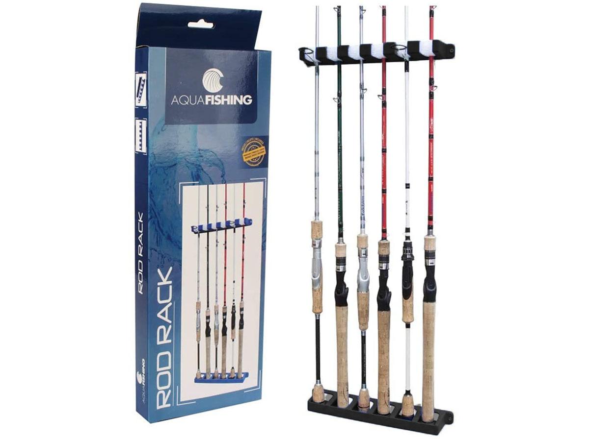 Suporte de varas Pesca Brasil Rod Rack - Até 6 Varas