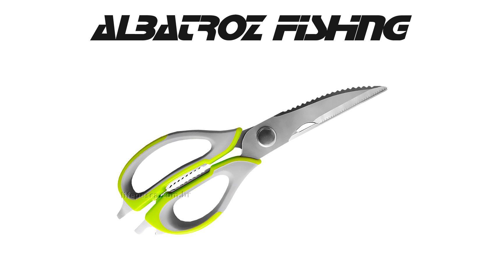 Tesoura Multifunção - Albatroz Fishing - JD5055  - Life Pesca - Sua loja de Pesca, Camping e Lazer