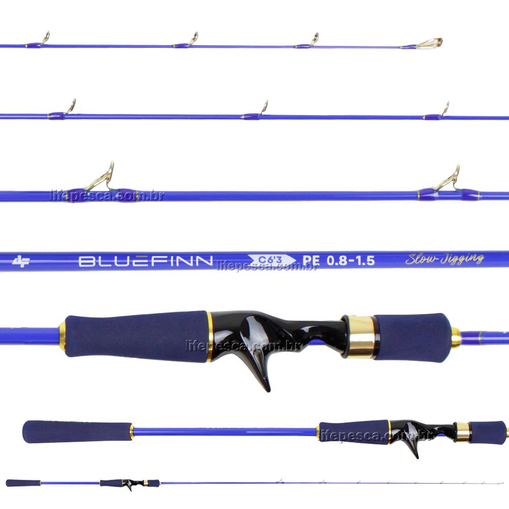 Vara Para Carretilha Albatroz Bluefinn Slow Jigging 6'0