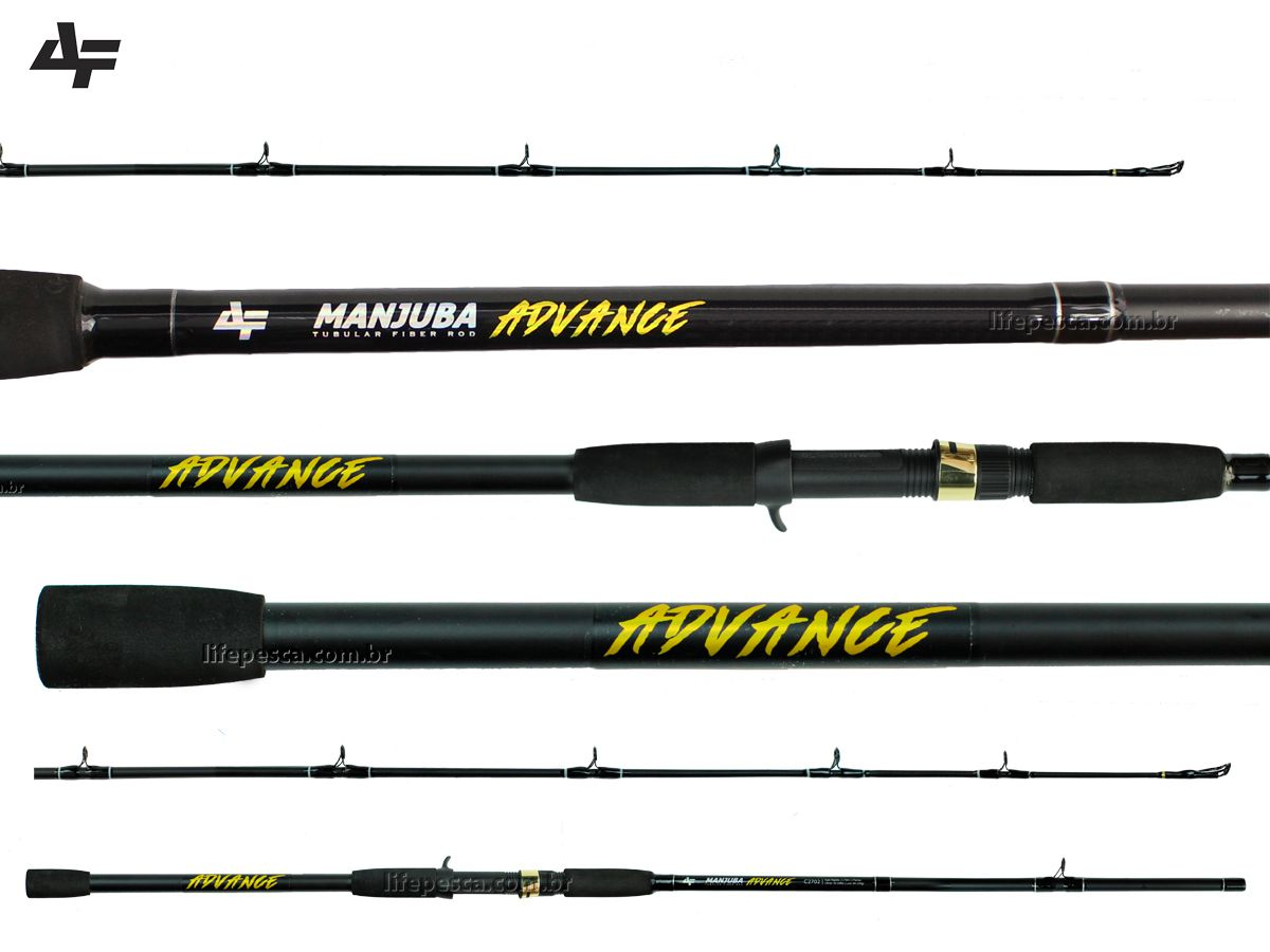 Vara Para Carretilha Albatroz Fishing Manjuba Advance 8'0