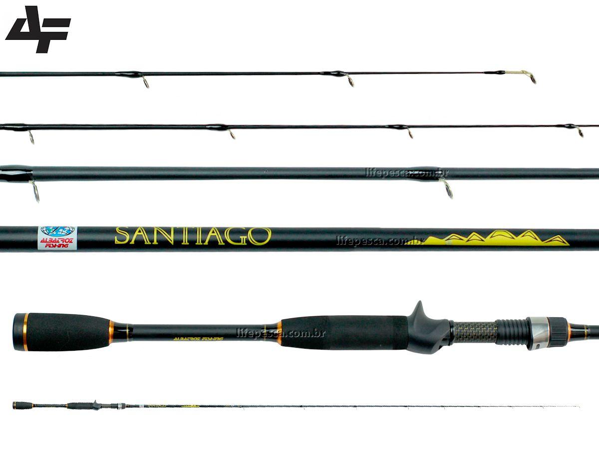 Vara Para Carretilha Albatroz Fishing Santiago 6'3