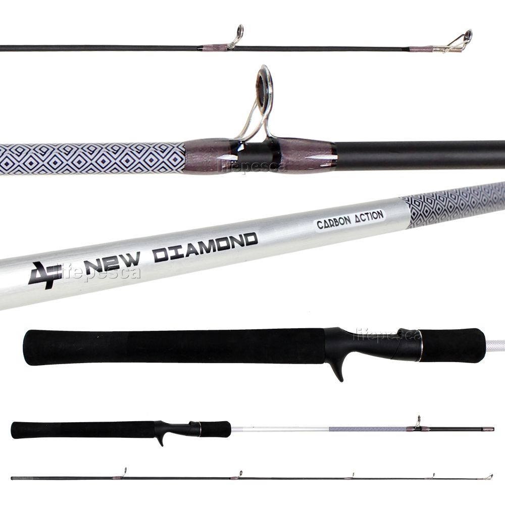 Vara para Carretilha Albatroz New Diamond 5'6