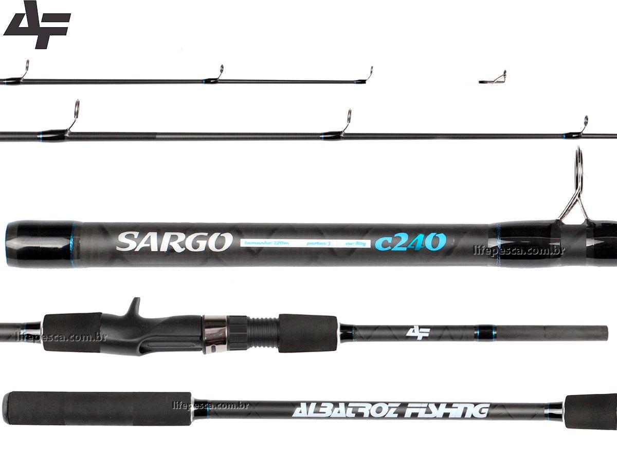 Vara Para Carretilha Albatroz Sargo Carbon 8'0