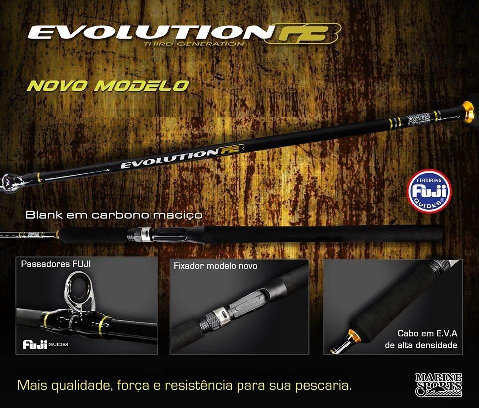 Vara para Carretilha Marine sports Evolution G3 6