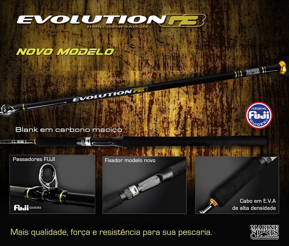 Vara para Carretilha Marine sports Evolution G3 6