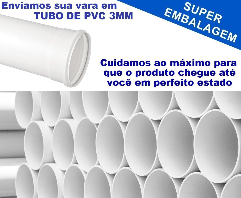 Vara Para Carretilha Marine Sports Lubina X Car New 5