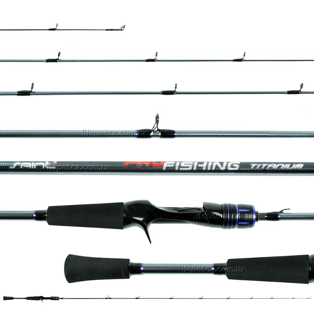 Vara Para Carretilha Saint Pro Fishing Titanium 5'6
