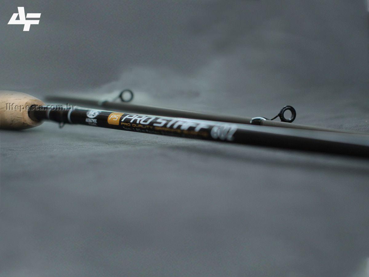 """Vara Para Molinete Albatroz Fishing Pro Staff 5""""6"""" (1,68m) 8-17Lbs S562 2 Partes  - Life Pesca - Sua loja de Pesca, Camping e Lazer"""
