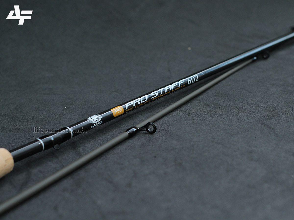 """Vara Para Molinete Albatroz Fishing Pro Staff 6""""0"""" (1,80m) 8-17Lbs -S602 - 2 Partes  - Life Pesca - Sua loja de Pesca, Camping e Lazer"""