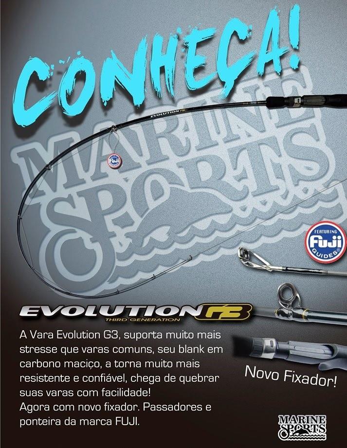 Vara para Molinete Marine sports Evolution G3 5