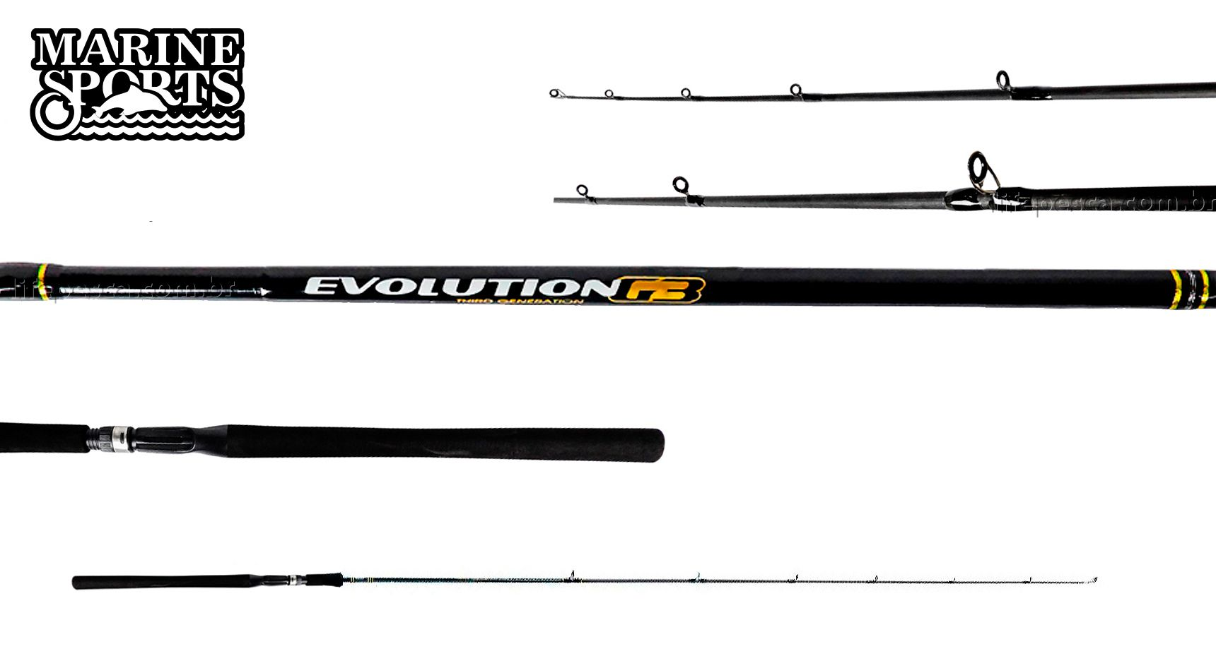 Vara para Molinete Marine sports Evolution G3 6