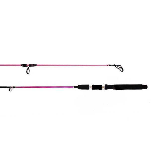 Vara para Molinete Way Fishing Premium Rosa 5-15lb 1,20m - 2 partes  - Life Pesca - Sua loja de Pesca, Camping e Lazer