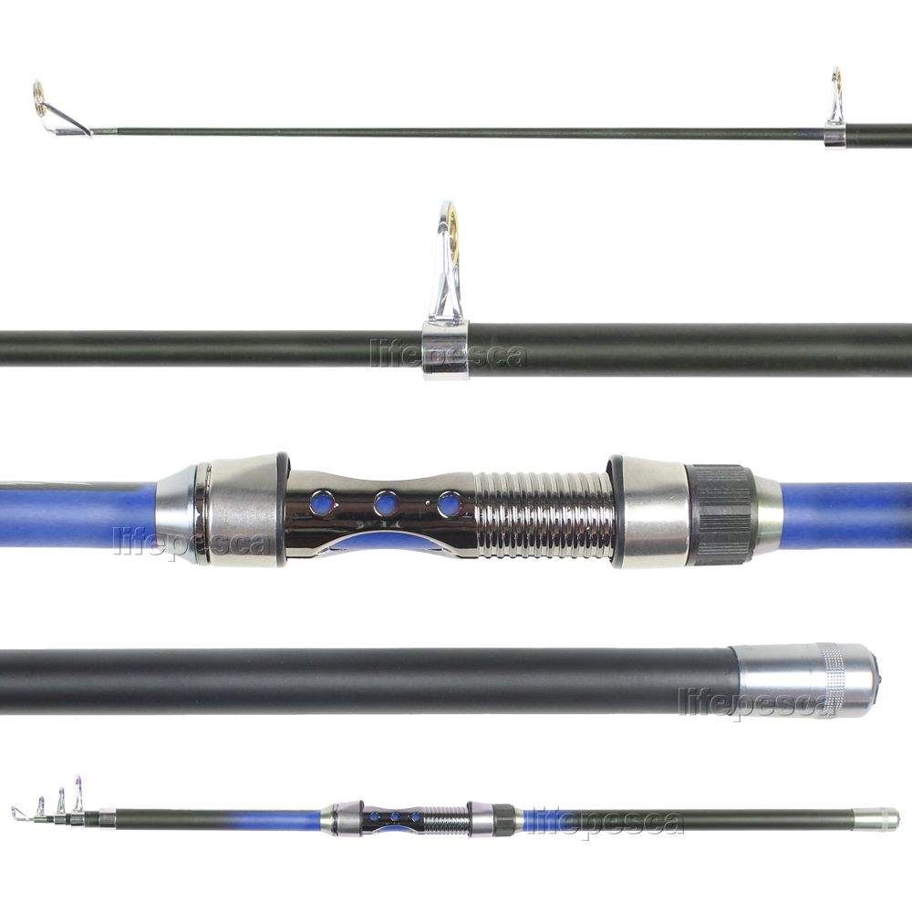 Vara Para Molinete Telescópica Com Passador Cmik Art Of Balance (2,40m) 20-40lbs - Varias Cores