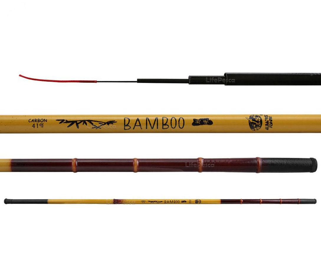 Vara Telescópica Albatroz Fishing Bamboo 41% Carbono - 2,10 Metros