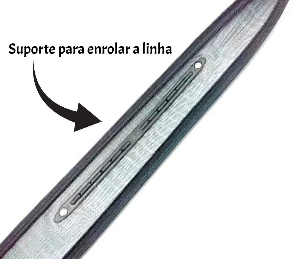 Vara Telescópica Lisa Xingu Top 2 - 4,00 Metros  - Life Pesca - Sua loja de Pesca, Camping e Lazer