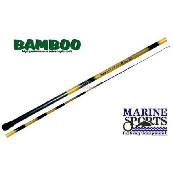 Vara Telescópica Marine Sports Bamboo (4,50m) - 4509  - Life Pesca - Sua loja de Pesca, Camping e Lazer