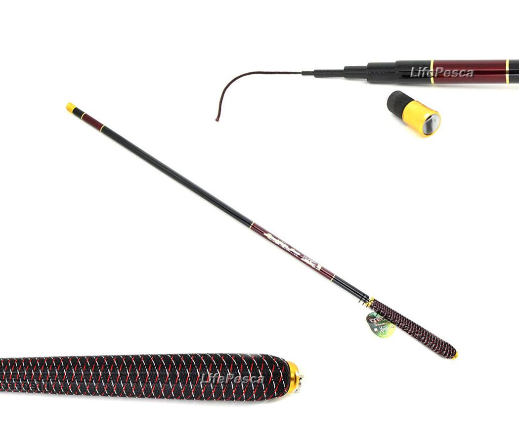 Vara Telescópica Xingu Ignitius Carbon - 3,60 Metros  - Life Pesca - Sua loja de Pesca, Camping e Lazer
