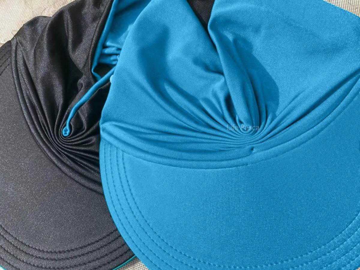 Viseira Turbante Dupla Face Com Proteção Uv (Chapéu de Praia) - Várias Cores