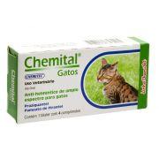 Chemital Gatos C/4 Comprimidos