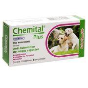Chemital Plus C/4 Comprimidos Chemitec