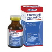 CHEMITRIL INJETAVEL 2,5% 20 ML