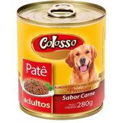 Colosso Pate Caes Carne Lata 280 Grs