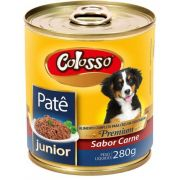 Colosso Pate Caes Junior Lata 280 Grs