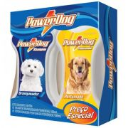 Kit Shampoo Branqueador + Cond Powerdog 500 Ml