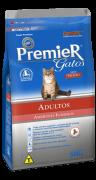 Ração Premier Ambientes Internos de Frango para Gatos Adultos Castrados + 12 Anos de Idade