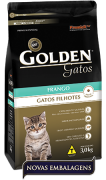 Ração Premier Pet Golden de Frango para Gatos Filhotes