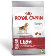 Ração Royal Canin Shn Medium Light para Cães Adultos E Idosos de Raças Médias Obesos