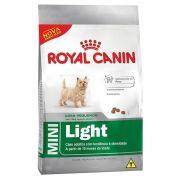 Ração Royal Canin Shn Mini Light Adult para Cães Adultos de Raças Pequenas Obesos