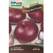 Semente Cebola Red Creole Topseed H035 -10 Pacotes