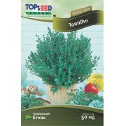 Semente Tomilho Topseed C022 -10 Pacotes