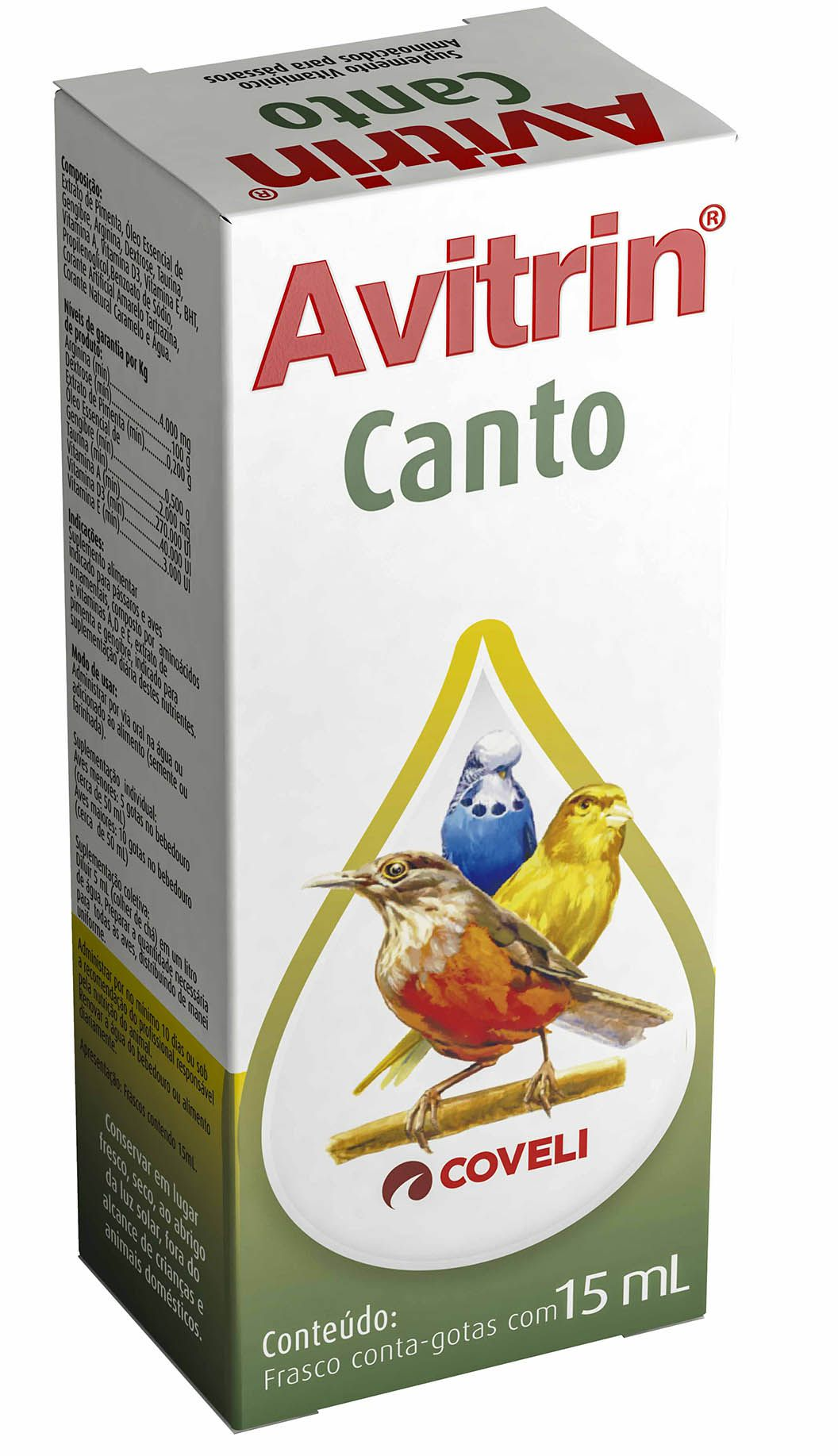 Avitrin Canto 15 Ml Coveli