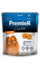 Biscoito Premier Cookie Cães 250 g