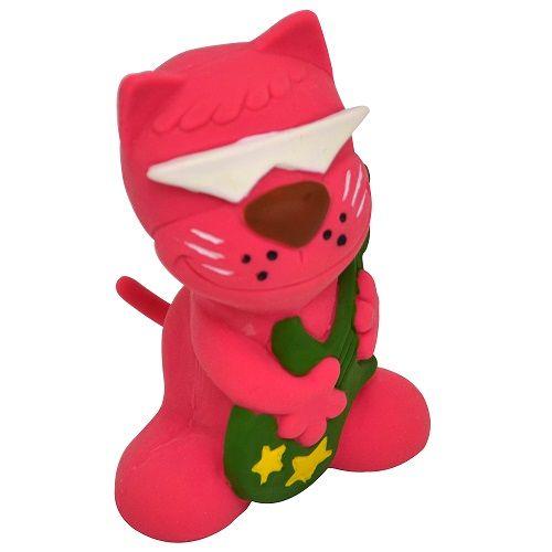 Brinquedo Latex Gato Viola