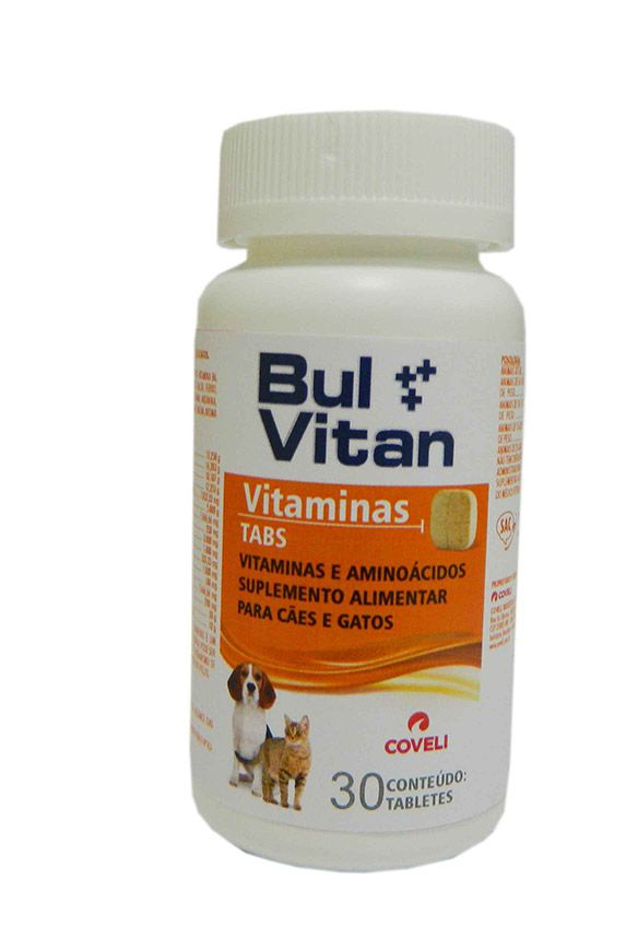 BULVITAN VITAMINAS 30 TABLETS