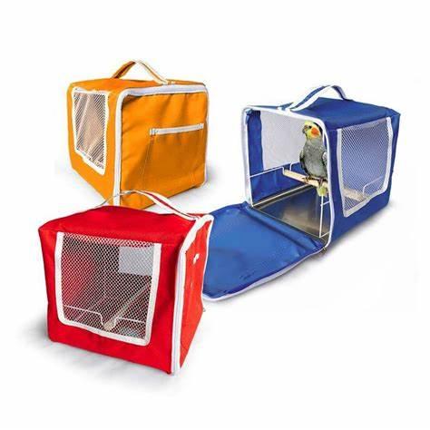Caixa de Transporte Animalíssimo Para Pássaros - Cores Sortidas