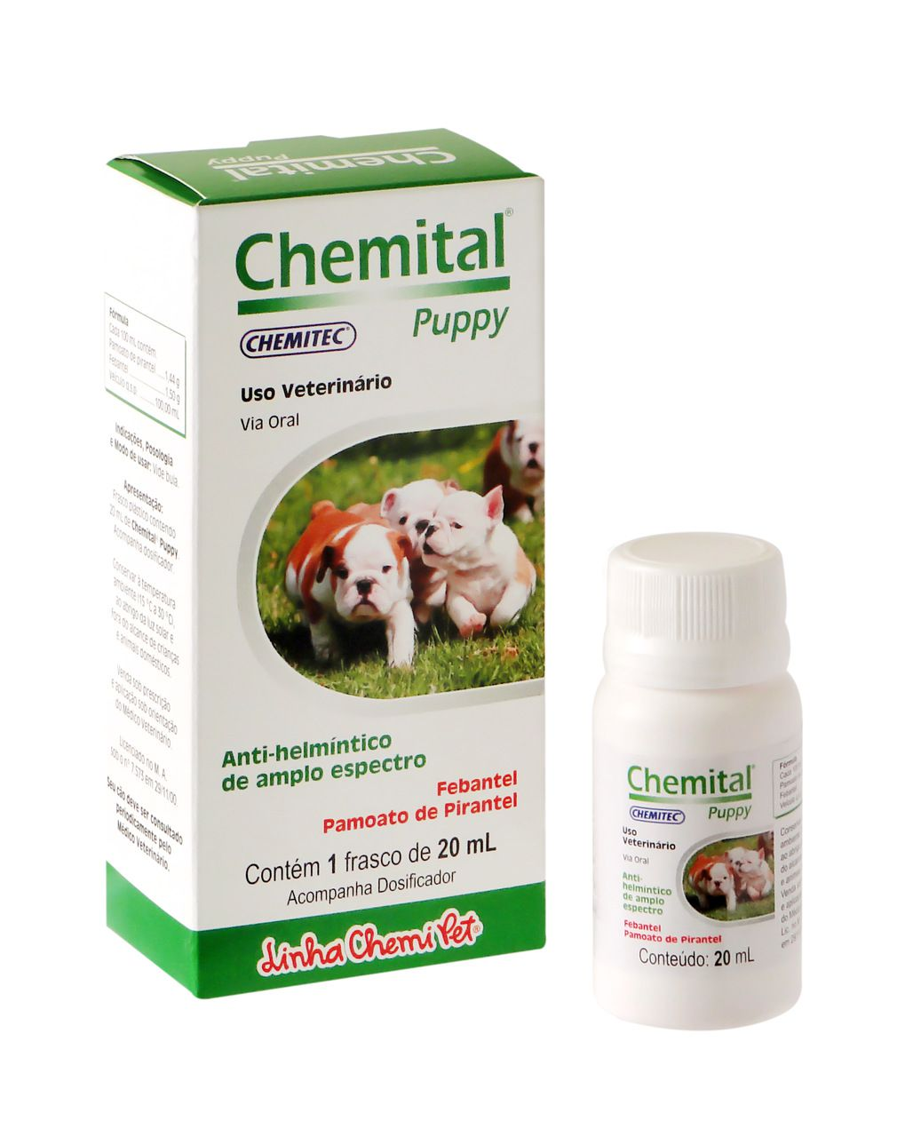 CHEMITAL PUPPY + DOSADOR 20 ML