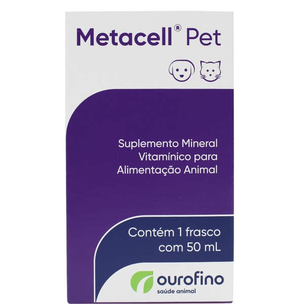 Metacell Pet 50 ML - Ouro Fino