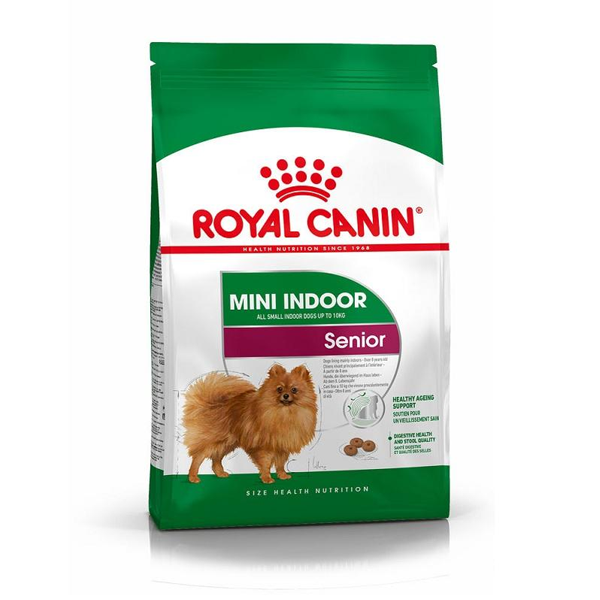 Ração Royal Canin Mini Indoor Cães Senior