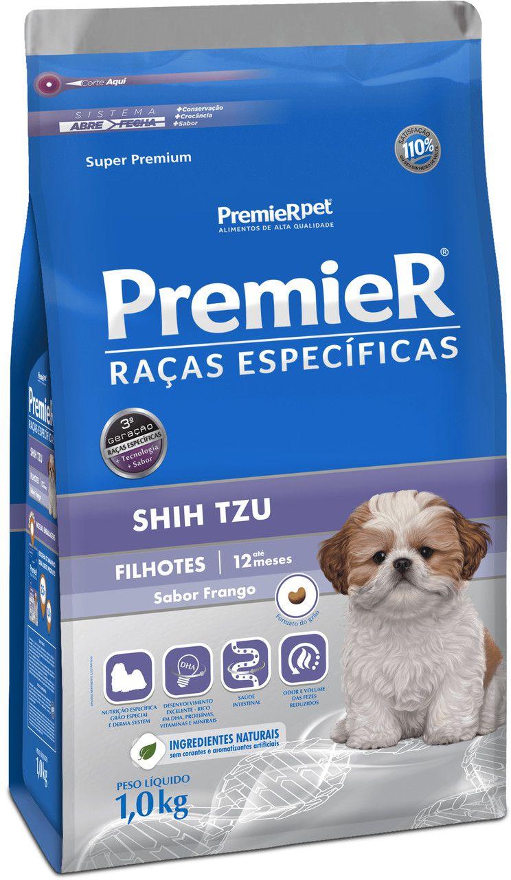 Ração Premier Raças Especificas para Cães Filhotes Shih Tzu