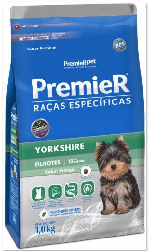 Ração Premier Raças Especificas para Cães Filhotes Yorkshire