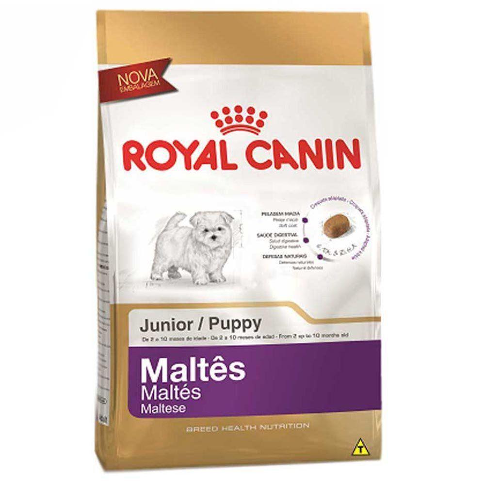 Ração Royal Canin Sbn Junior para Cães Filhotes Da Raça Maltes