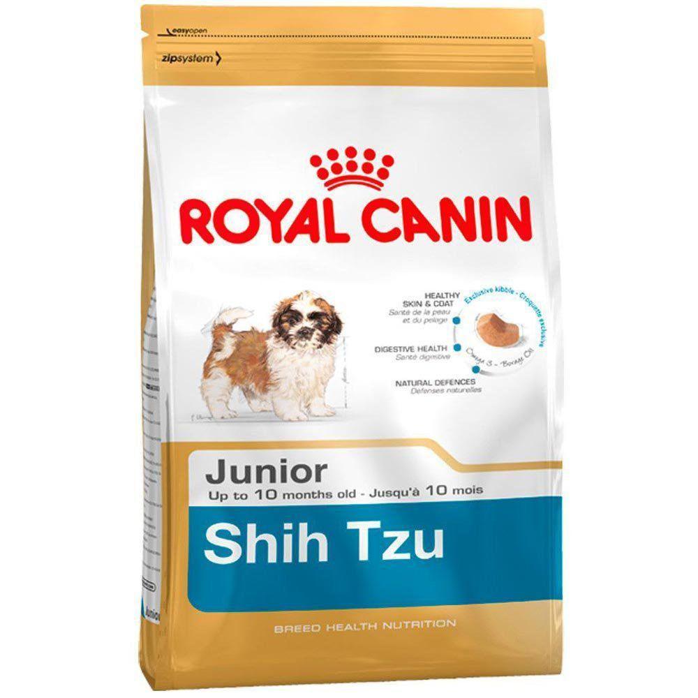 Ração Royal Canin Sbn Junior para Cães Filhotes Da Raça Shih Tzu
