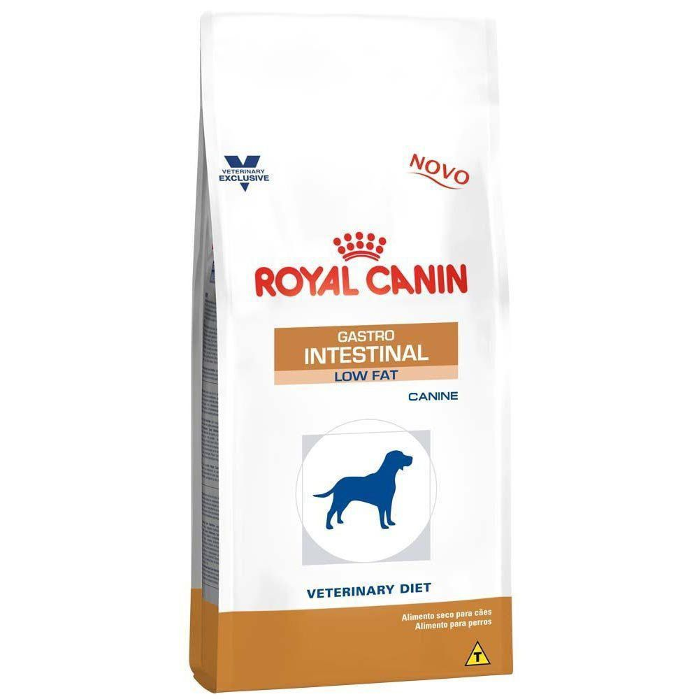 Ração Royal Canin Veterinary Diet Gastro Intestinal Low Fat de Cães Adultos Baixa Gordura