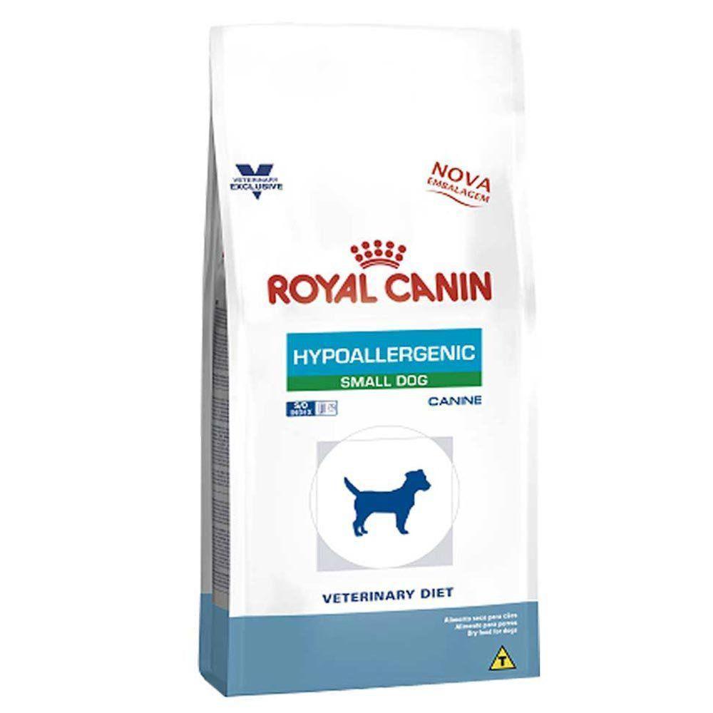 Ração Royal Canin Veterinary Diet Hypoallergenic Small para Cães Adultos de Raças Pequenas