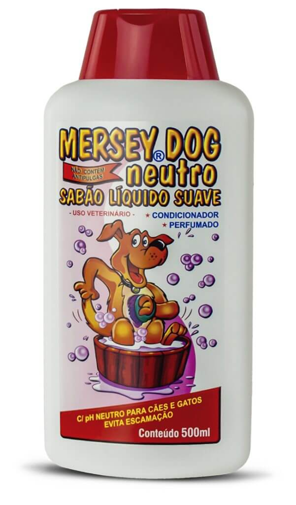 Shampoo Mersey Neutro 500 mL