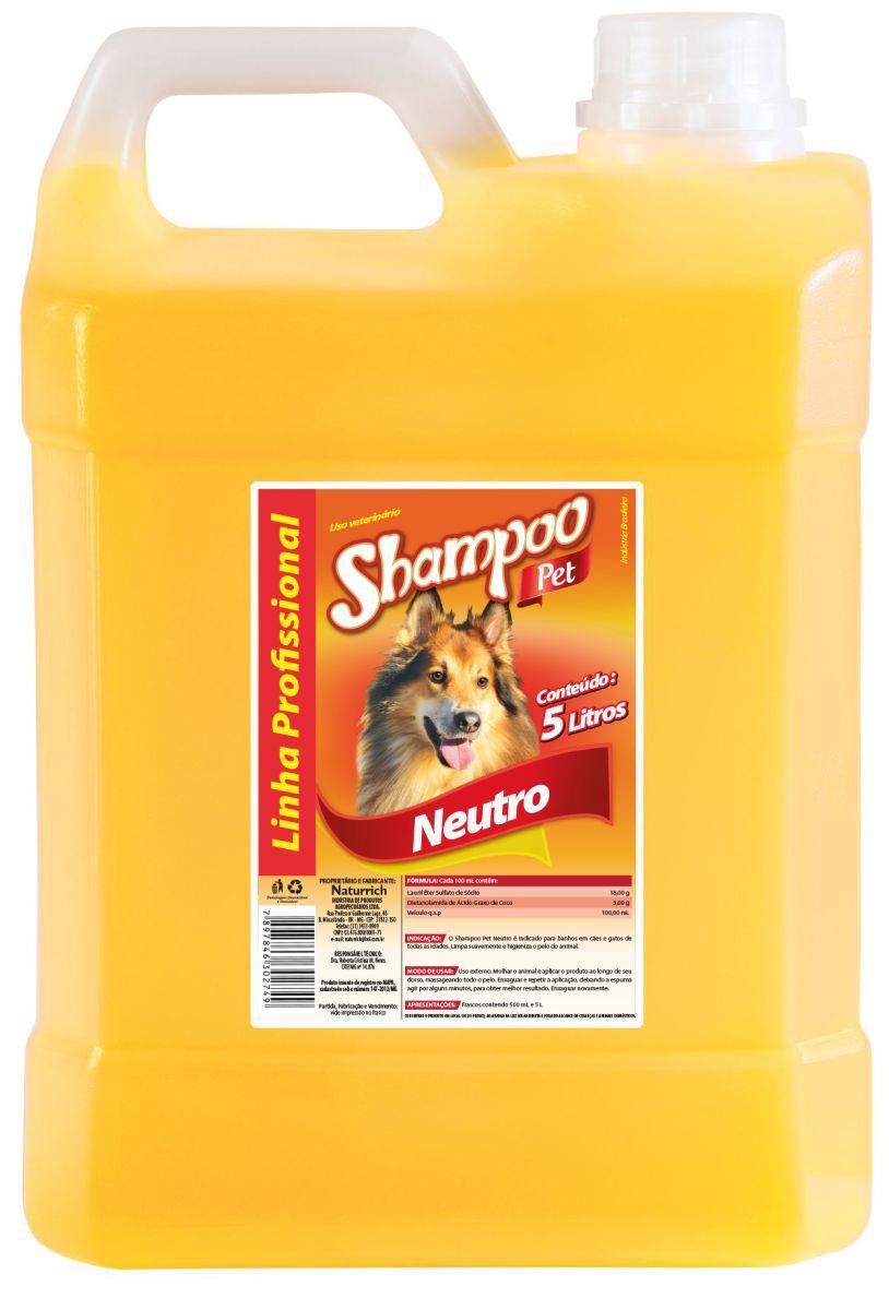Shampoo Pet Colosso Neutro 5 Lts